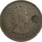 1959 East Caribbean State 25 Cent