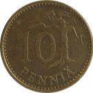 1975 Finland 10 Pennia