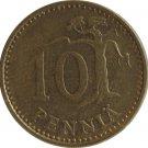 1974 Finland 10 Pennia