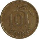 1973 Finland 10 Pennia