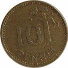 1970 Finland 10 Pennia
