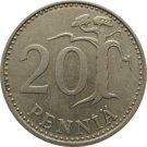 1975 Finland 25 Penni
