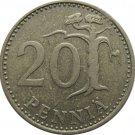 1972 Finland 25 Penni