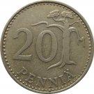 1967 Finland 25 Penni