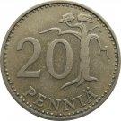 1966 Finland 25 Penni