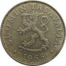 1965 Finland 50 Pennia