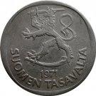 1971 Finland 1 Markka