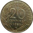 1985 France 20 Centimes