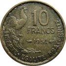 1951 France 10 Franc #2