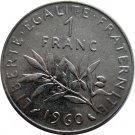 1960 1 Franc #3