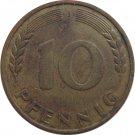 1949 J Germany 10 Pfennig #2