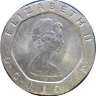 1982 Great Britain 20 Pence #3