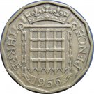 1956 Great Britain 3 Pence