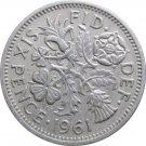 1961 Great Britain 6 Pence