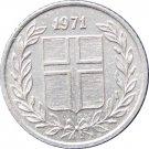 Iceland 1971 10 Aurar