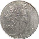 1955R Italy 100 LiRA