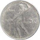 1964 Italy 50 Lire