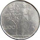1957R Italy 100 LiRA