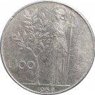 1958R Italy 100 LiRA