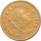 1976 Mexico 5 Centavos