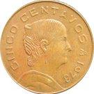 1973 Mexico 5 Centavos #2