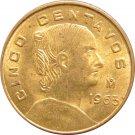 1963 Mexico 5 Centavos