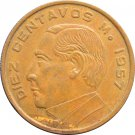 1957 10 Centavos #2