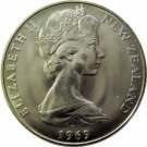 New Zealand, 1969 One Dollar