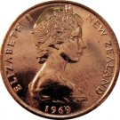 1969 New Zealand One Cent