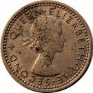 1962 New Zealand Three Pence