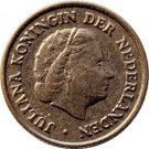 1950 Netherlands 10 Cents #2