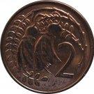 1969 New Zealand 2 Cents Proof Like
