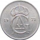 1972 Sweden 25 ORE