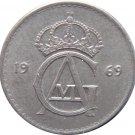 1969 Sweden 25 ORE