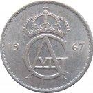 1967 Sweden 25 ORE #2