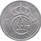 1969 Sweden 10 Ore