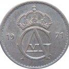 1971 Sweden 50 ORE