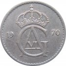 1970 Sweden 50 ORE
