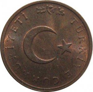 Turkey 1971 1 Kurus