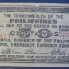 PHILIPPINES EMERGENCY ISSUE 1942 50 CENTAVOS 925