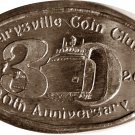 2007 Marysville Michigan Coin Club Elongated Cent