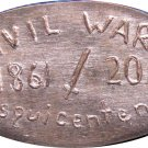 2011 Civil War Sesquicentennial Elongated Cent