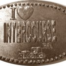 Intercourse. PA. I LOVE INTERCOURSE Elongated