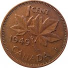 1949  Canadian Cent