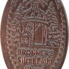 Elongated, Bronners, Frankenmuth Michigan, Silent Night