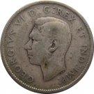1947 Canadian Quarter SILVER
