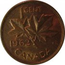 1962 Canadian Cent Hanging 2 a