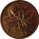 1962 Canadian Cent Hanging 2 b