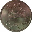 1963 Norway 50 Ore