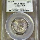 SILVER 2011P PCGS SP69 1/10